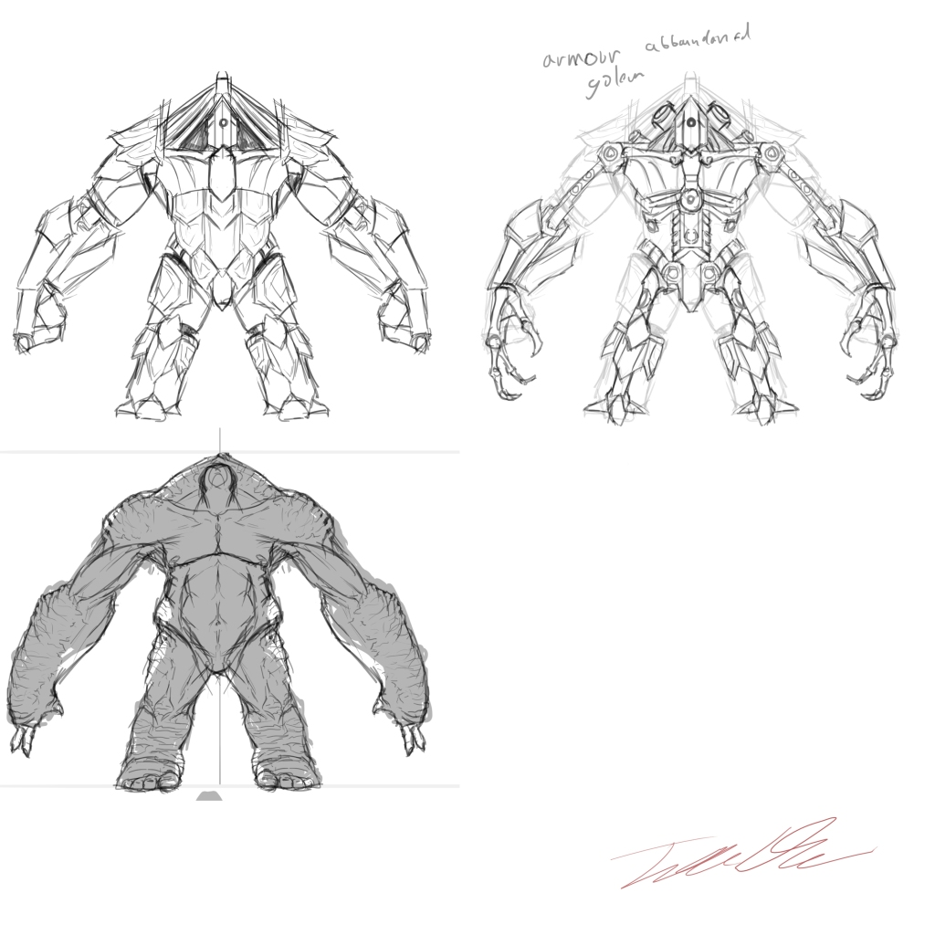 Large monster Concept